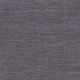 Eden - Metal - Fabric made entirely from iron grey coloured unpatterned linen