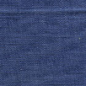 Eden - Moonlight Blue - Plain Royal blue coloured 100% linen fabric