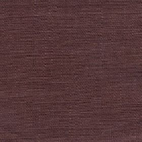 Eden - Nutmeg - Chocolate brown and black coloured 100% linen threads woven together into an unpatterned fabric
