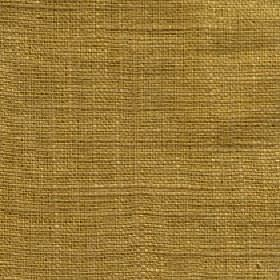 Eden - Ochre - Luxurious deep gold coloured 100% linen fabric