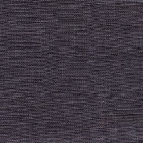 Eden - Otter - Slate grey coloured fabric woven from threads with a 100% linen content