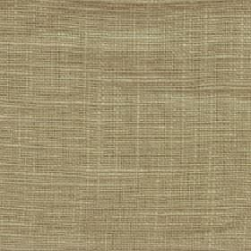 Eden - Palm - A few cream coloured threads showing through a 100% linen fabric made in a light green-grey colour