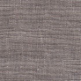 Eden - Parchment - Fabric woven using gunmetal grey and white coloured 100% linen threads
