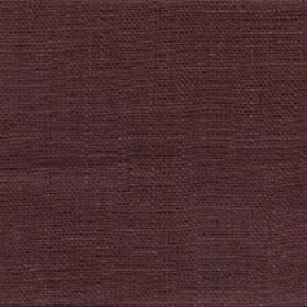 Eden - Port - 100% linen fabric made in a dark colour that's a blend of mulberry and grey shades