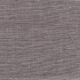Eden - Putty - Iron grey and white coloured threads woven into an unpatterned 100% linen fabric