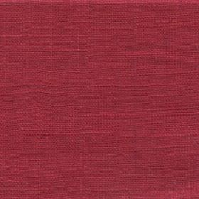 Eden - Red Rose - Fabric made entirely from linen in a dark shade of raspberry with a subtle grey tinge