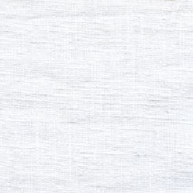 Eden - Snowdrop - Crisp white coloured fabric made entirely from unpatterned linen