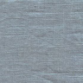 Eden - Stone Blue - Unpatterned 100% linen fabric made in a stylish light blue-grey colour