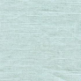 Eden - Surf Spray - Pale aqua blue coloured fabric made from 100% linen with a few white threads