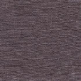 Eden - Walnut - 100% linen fabric made in a dark grey-purple colour with no pattern