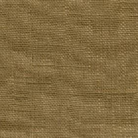 Eden - Butternut - 100% linen fabric made in a plain hessian colour