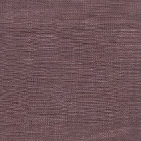 Eden - Cocoa Brown - Dusky red and grey colours combined to create a plain 100% linen fabric