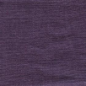Eden - Dusk - 100% linen fabric made in a dark shade of Royal purple