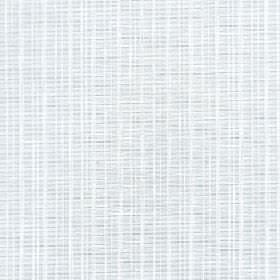 Muse - Cloud Dancer - Very subtly vertically striped fabric made from 100% Trevira CS in white and a very pale shade of grey