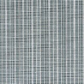 Muse - Silver Moon - Several dark and light shades of blue-grey making up a thin vertical line pattern on fabric made from 100% Trevira CS