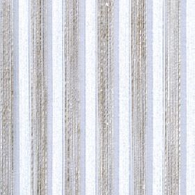 Blink - Moonbeam - Patchily printed light grey lines running vertically with pale blue and white stripes on fabric made from 100% Trevira CS