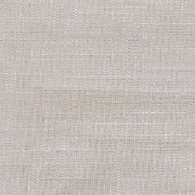 Enya - Parchment - Pale grey 100% polyester fabric woven with a few very subtle white threads