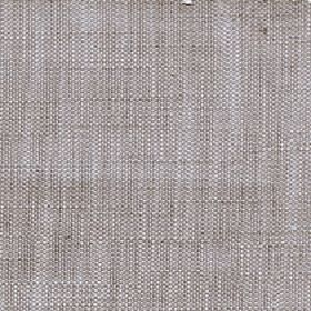 Enya - Feather Grey - Light grey-beige and white threads woven into a 100% polyester fabric with a slightly flecked finish