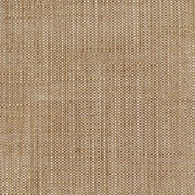 Enya - Boulder - 100% polyester fabric woven using threads in white and warm wicker brown colours
