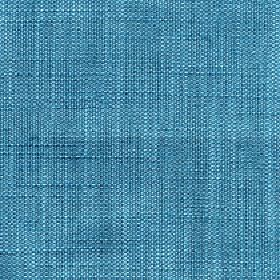 Enya - Porcelain - Bright sea blue coloured 100% polyester fabric woven with a few paler coloured flecks and threads