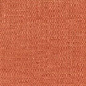 Enya - Tigerlilly - 100% polyester fabric made in a flat shade of light terracotta orange