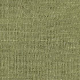 Enya - Palm - Plain fern green coloured 100% polyester fabric woven using a few very slightly darker and lighter coloured threads