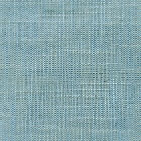 Enya - Opal Blue - Fabric made from 100% polyester in a dusky shade of sky blue with a few subtle, slightly lighter coloured threads