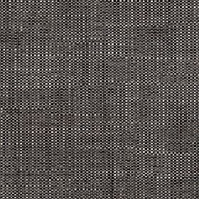 Enya - Oyster Gray - Black and white coloured 100% polyester threads woven into a fabric with a flecked finish