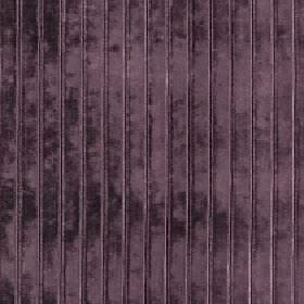 Europa - Dusk - A soft texture finishing dark aubergine coloured viscose, cotton and polyester blend fabric, featuring thin vertical lines