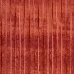Europa - Tigerlily - Chili red coloured fabric made from viscose, cotton and polyester, featuring thin vertical lines and a luxurious textur