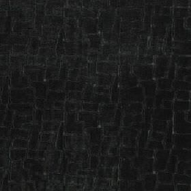 Leda - Ivy - Very dark shades of grey making up a viscose, cotton and polyester blend fabric featuring a random block pattern
