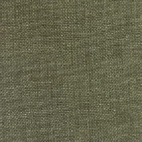 Gecko - Dill - Dusky shades of green and grey blended together into a plain fabric with a mixed linen and polyester content