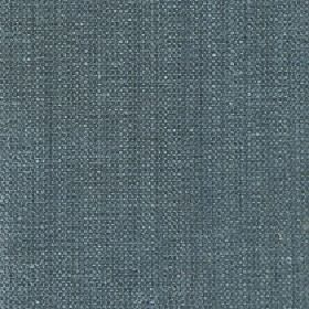 Gecko - North Atlantic - Linen and polyester blend fabric woven from threads in white and steely blue-grey