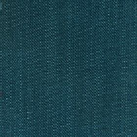 Gecko - Deep Lake - Deep marine blue coloured fabric made with a linen and polyester blend and a few white flecks