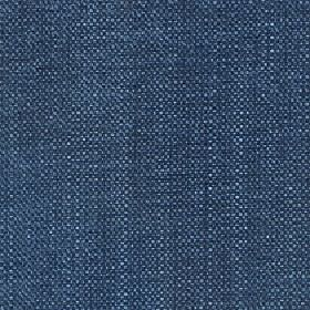 Gecko - Bluesteel - A few subtle white flecks woven into plain navy blue coloured fabric made from a blend of linen and polyester