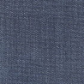 Gecko - Aegan Blue - Air Force blue coloured linen and polyester blend fabric, woven with a few very subtle flecks in white