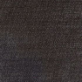 Gecko - Liquorice - Dark shades of grey woven together into an unpatterned linen and polyester blend fabric