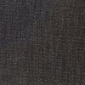 Gecko - Dark Slate - Fabric woven from linen and polyester using threads in several different dark shades of grey