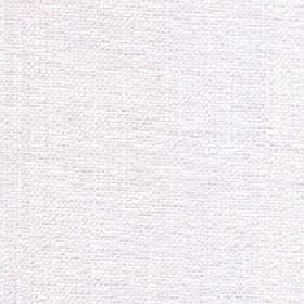 Gecko - Bright White - Plain paper white coloured fabric made from 3% linen and 97% polyester