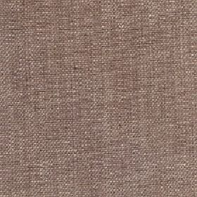Gecko - Tuffet - Linen and polyester blend fabric woven using threads in walnut brown and light mocha colours