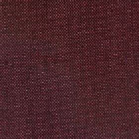 Gecko - Port - Plain linen and polyester blend fabric blended from deep, dark, rich berry shades