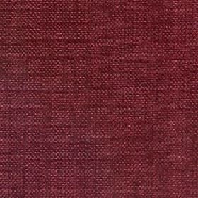 Gecko - Rio Red - Linen and polyester blend fabric made in a dark claret colour with a few threads in a slightly darker shade