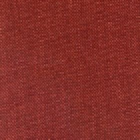Gecko - Autumn Ginger - Linen and polyester blend fabric made in a plain brick red colour