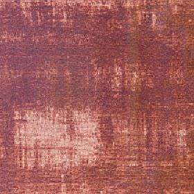 Hayworth - Ginger - Patchily coloured fabric made from viscose and cotton in blush pink, blood red and mulberry tones