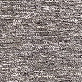 Lombard - Platinum - Various shades of grey woven together into a streaky cotton, polyester and viscose blend fabric