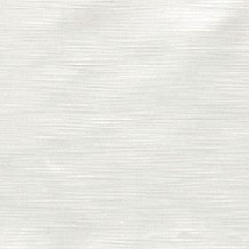 Halo - Pearl - Fabric made from very subtly streaked 100% polyester with a pale grey horizontal design on a white background