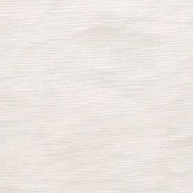Halo - Ivory - Subtle horizontal pale grey-beige coloured streaks printed on a white 100% polyester fabric background