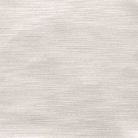 Halo - Oyster - White 100% polyester fabric behind a light beige coloured subtle horizontal streak pattern