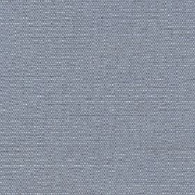 Hoy - Ocean - Fabric made from slightly flecked cotton and linen woven together in white and dark blue-grey
