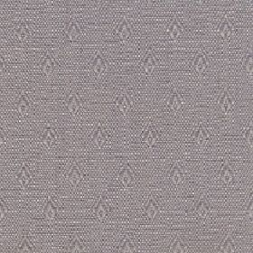Fara - Putty - Rows of small, simple diamonds covering a speckled cotton and linen blend fabric made in two dark grey shades